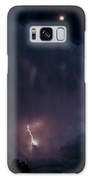 Supercell Moon Galaxy Case by Ed Sweeney