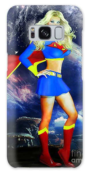 Supergirl Galaxy Case
