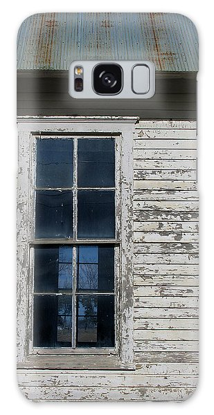 Superior Schoolhouse Window Galaxy Case by Rod Seel