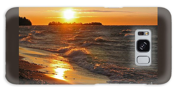 Superior Sunset Galaxy Case by Ann Horn