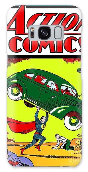 Superman Comic Book -1938 Galaxy Case by Doc Braham