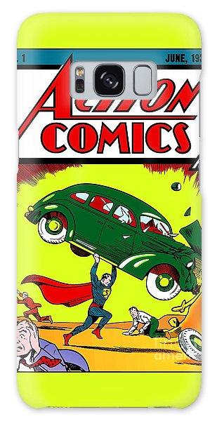 First Edition - Superman Comic Book  Galaxy Case