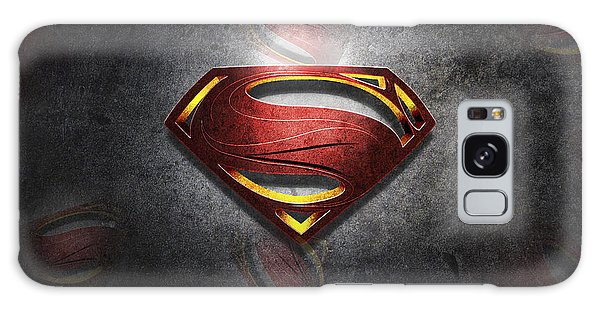 Superman Man Of Steel Digital Artwork Galaxy Case