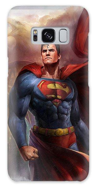 Heroes Galaxy Case - Man Of Steel by Steve Goad