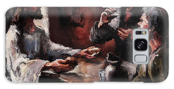Supper At Emmaus Galaxy Case by Carole Foret