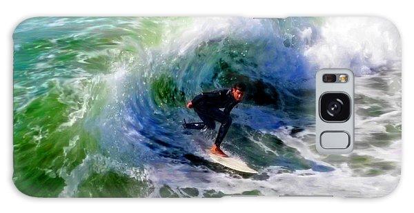 Surf 3 Off The Lip Galaxy Case