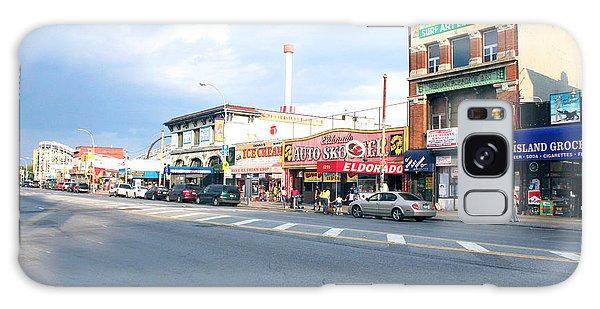 Surf Avenue In Coney Island Galaxy Case