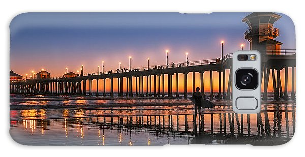 Surf City Usa Galaxy Case by Hawaii  Fine Art Photography