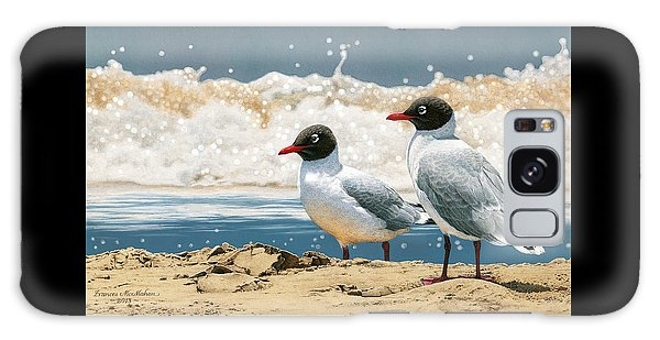 Surf 'n' Turf - Franklin's Gulls Galaxy Case by Frances McMahon