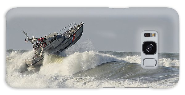 Surf Rescue Boat Galaxy Case