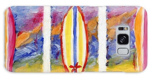 Surfboards 1 Galaxy Case by Jamie Frier
