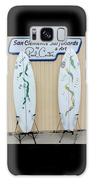 Surfboards In San Clemente Galaxy Case