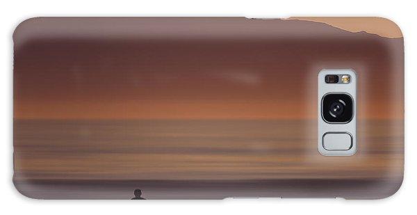 Surfer Approaching Rincon Mg_9505 Galaxy Case