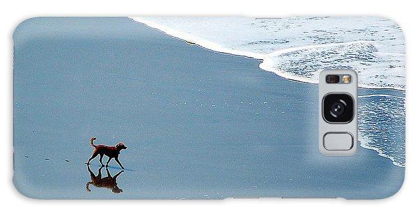 Surfer Dog Galaxy Case by AJ  Schibig