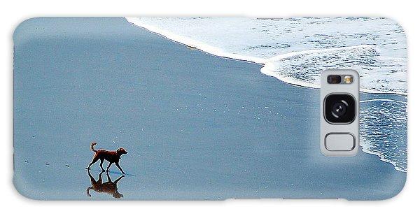 Surfer Dog Galaxy Case