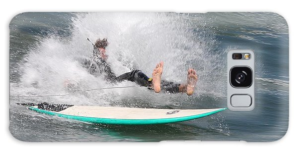 Surfer Wipeout Galaxy Case
