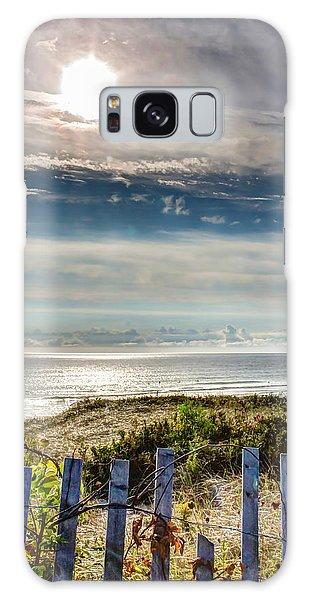 Surfers At Coast Guard Beach Galaxy Case by Brian Caldwell