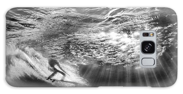 Surfing God Light Galaxy Case