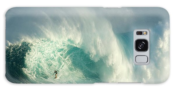 Surfing Jaws 3 Galaxy Case