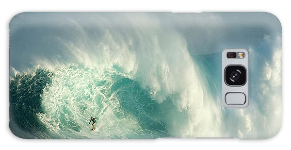 Surfing Jaws 3 Galaxy Case by Bob Christopher