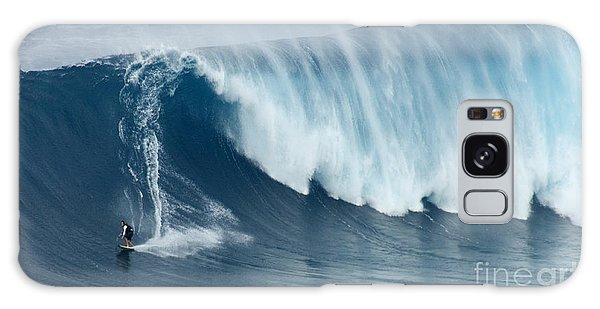 Surfing Jaws 5 Galaxy Case by Bob Christopher