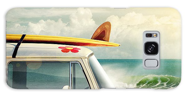 Surfing Way Of Life Galaxy Case by Carlos Caetano