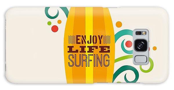 Board Galaxy Case - Surfing Zone Graphic Design , Vector by Gst