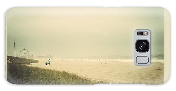 Surf's Up Seaside Park New Jersey Galaxy Case