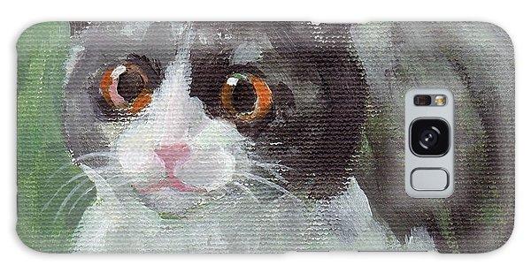 Surprised Cat Galaxy Case