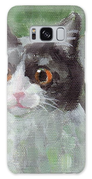 Surprised Cat Galaxy Case