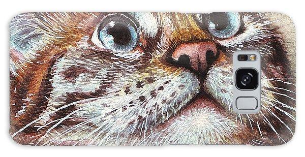 Realistic Galaxy Case - Surprised Kitty by Olga Shvartsur