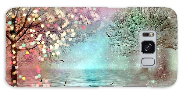 Nature Fantasy Trees Surreal Dreamy Twinkling Fantasy Sparkling Nature Trees Galaxy Case