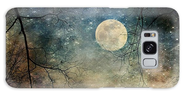 Surreal Night Sky Moon And Stars Galaxy Case