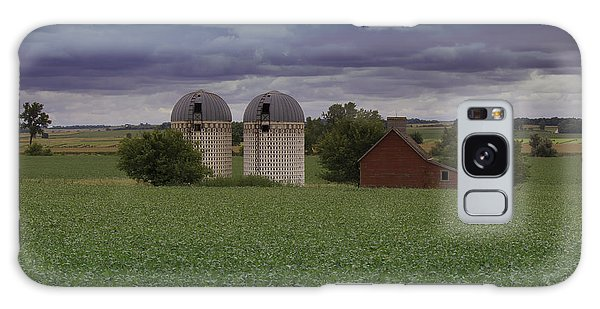 Surrounded By Fields Galaxy Case