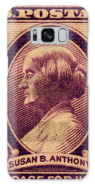 Susan B. Anthony Commemorative Postage Stamp Galaxy Case