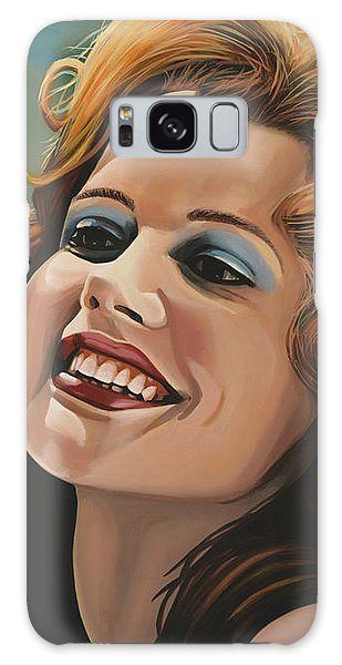 Susan Sarandon And Geena Davies Alias Thelma And Louise Galaxy Case by Paul Meijering