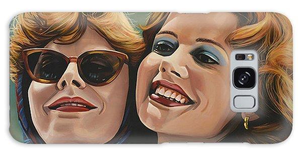 Hero Galaxy Case - Susan Sarandon And Geena Davies Alias Thelma And Louise by Paul Meijering