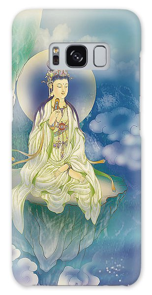 Sutra-holding Kuan Yin Galaxy Case by Lanjee Chee