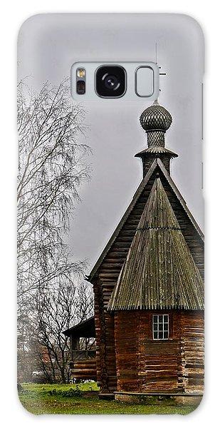 Suzdal Wooden Church Galaxy Case by Julia Ivanovna Willhite