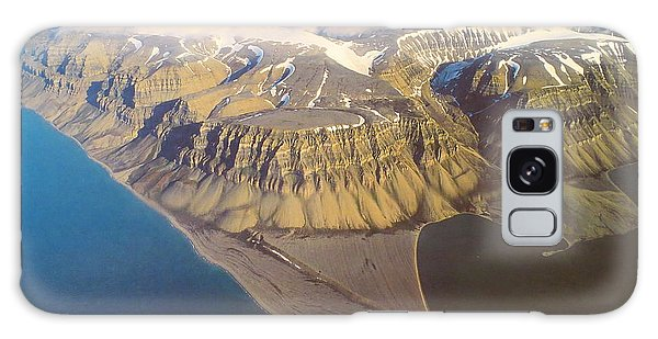 Svalbard Island Norway Galaxy Case