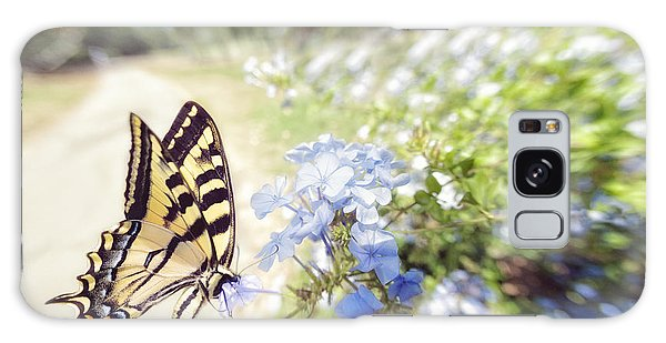 Swallowtail Butterfly In Spring Galaxy Case