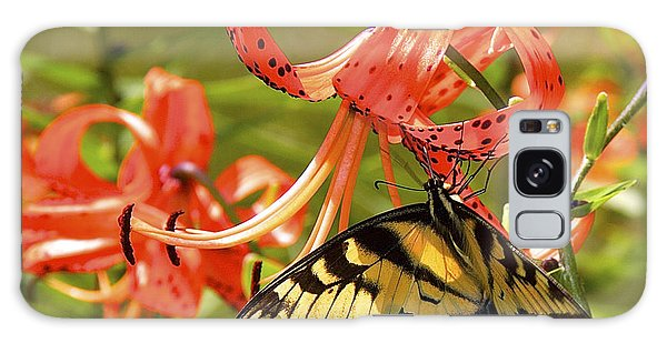 Swallowtail Butterfly Galaxy Case by Susan Crossman Buscho