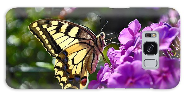 Swallowtail On A Flower Galaxy Case