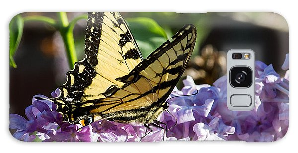 Swallowtail On Lilac Galaxy Case