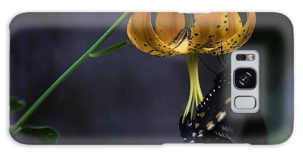Swallowtail On Turks Cap Galaxy Case