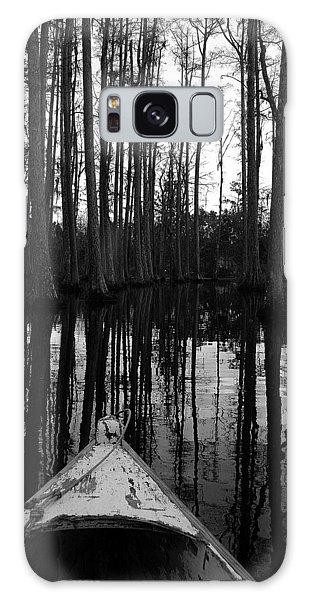 Swamp Boat Galaxy Case