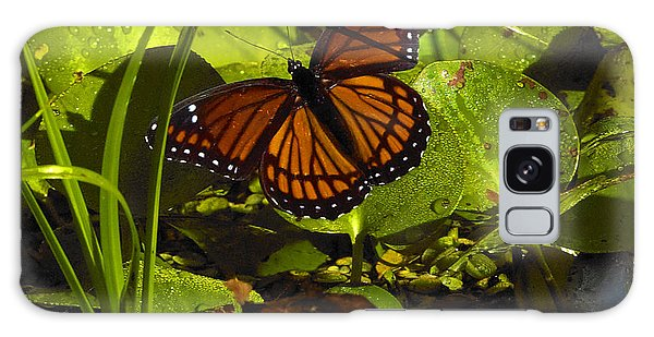 Swamp Butterfly Galaxy Case