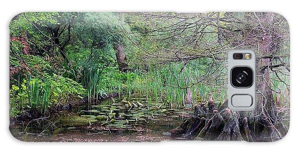 Swamp Garden Galaxy Case