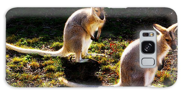 Red-necked Wallabies Galaxy Case