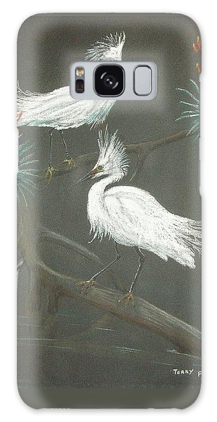 Swampbirds Galaxy Case by Terry Frederick